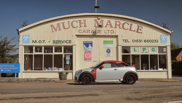Blog A Pic - Much Marcle Garage