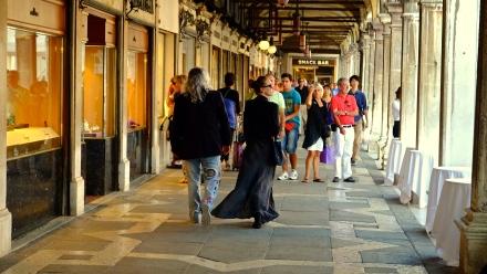Promenading In St Mark's Square