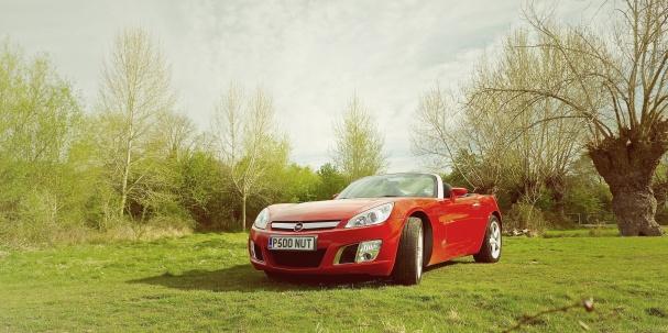 Opel GT Front