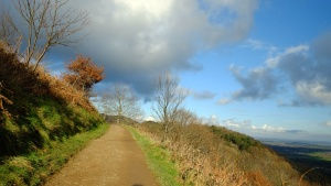 January - The Malvern Hills