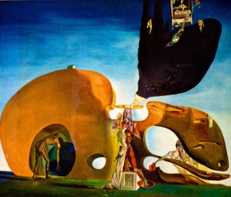 Birth of Liquid desires by Dali